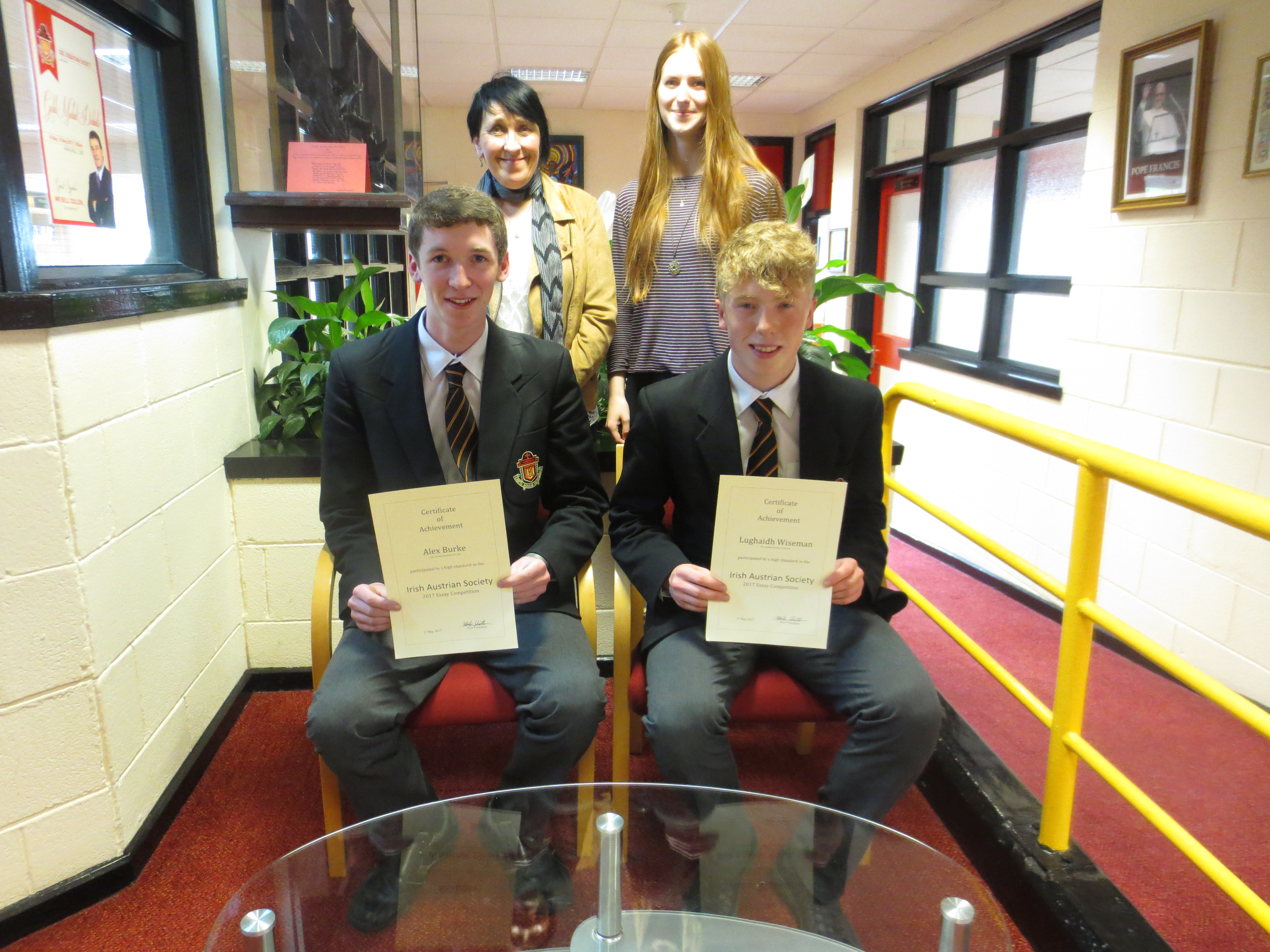 German Essay Award Winners