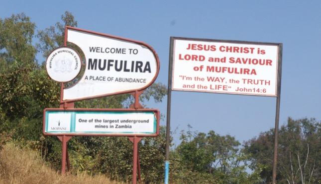 Welcome to Mufulira